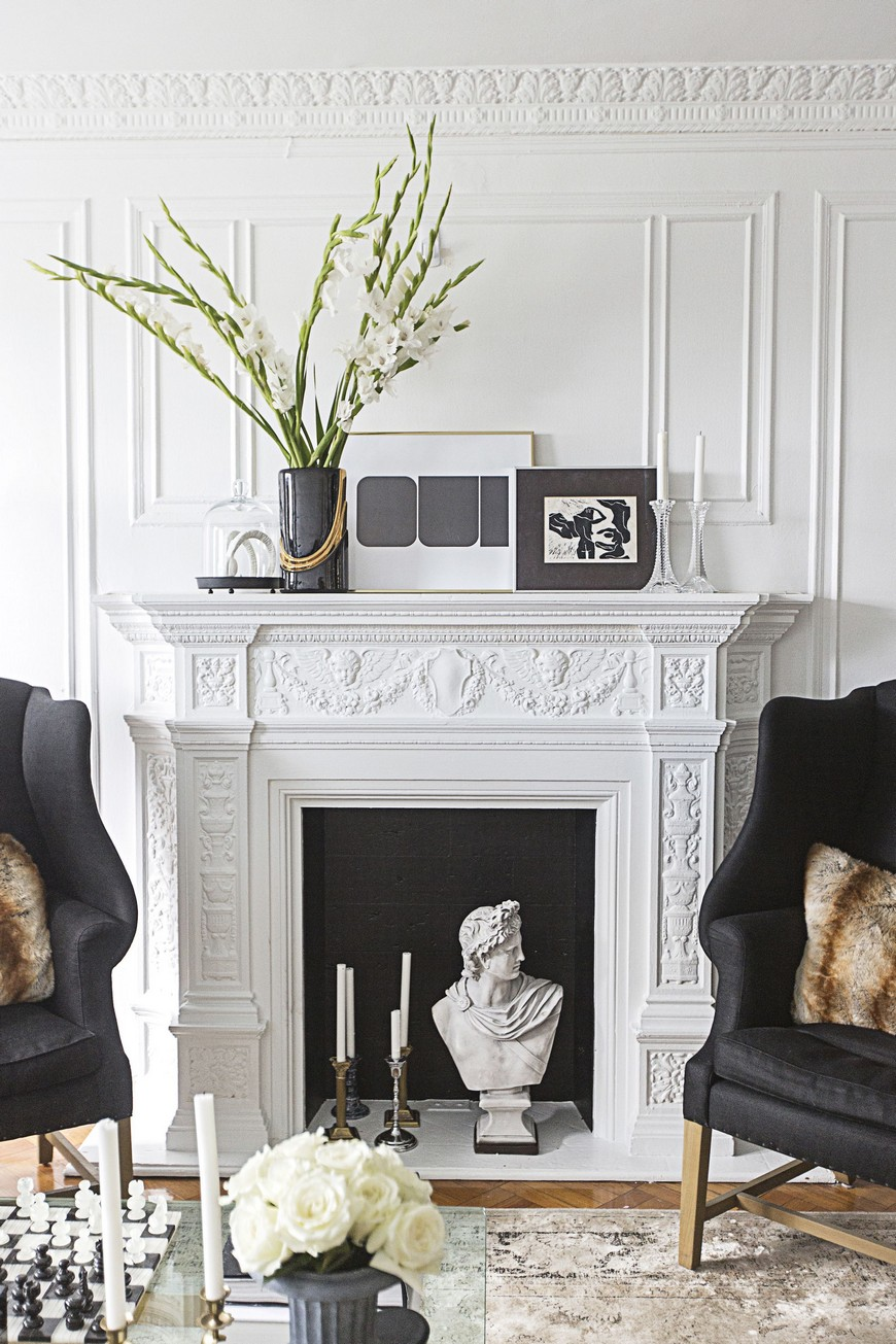 How To Successfully Decorate An Unused Fireplace