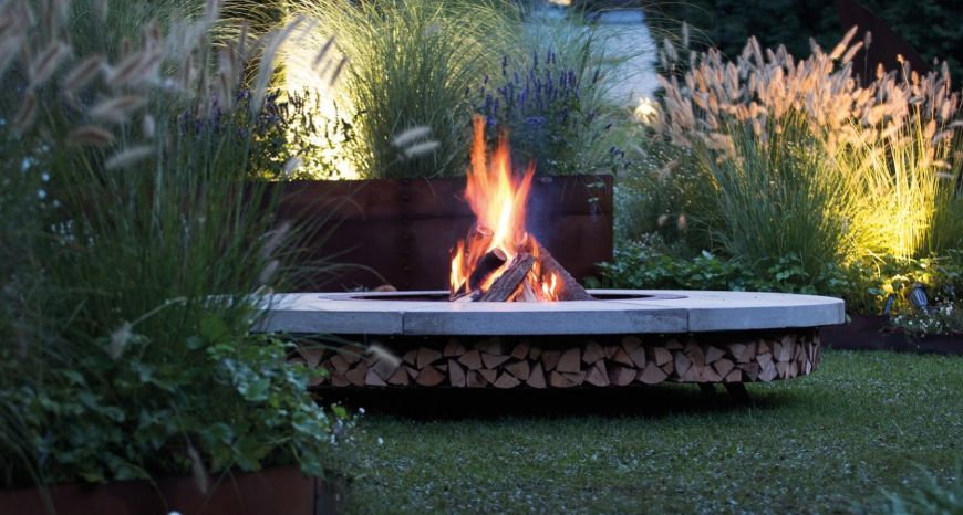 Enjoy The Outdoor Living With These Top Firepits From Luxury Brands