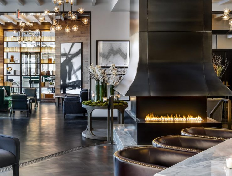 Find out how Fireplaces can add value to your Business fireplace in restaurant 740x560