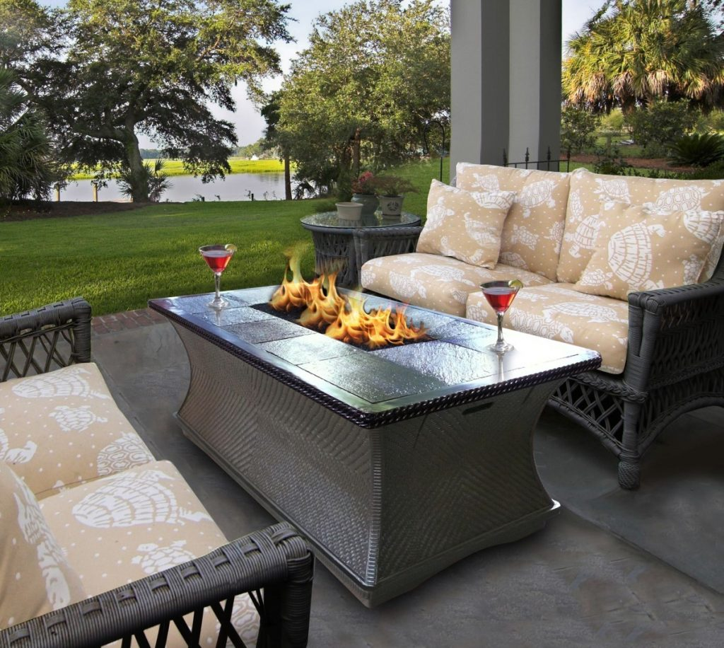 Outdoor Firestyles That Create Impact patio furniture with lp fire pit inspirational propane fire pit table set home design ideas of patio furniture with lp fire pit 1024x916