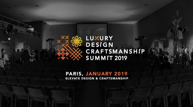 luxury-design-craftsmanship-summit  Maison et Objet September Is Over, But Are You Ready for January? Luxury Design Craftsmanship Summit January 2019 Paris