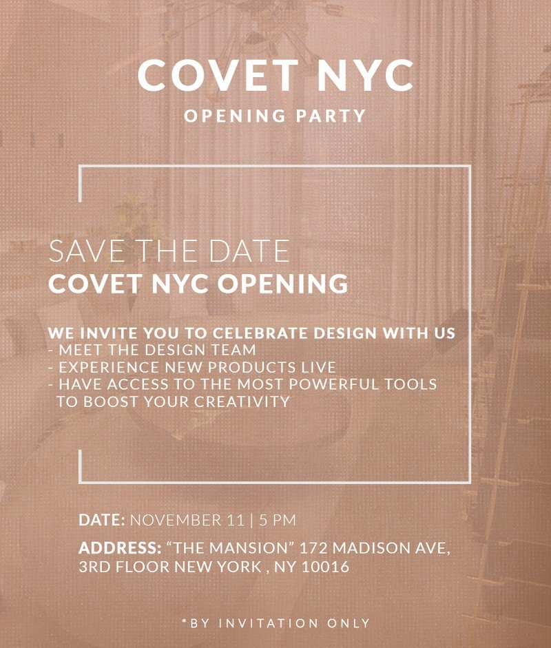 covet-nyc-experience-of-luxury-and-design  Covet NYC: Experience of Luxury and Design Covet NYC Invitation FOOGO