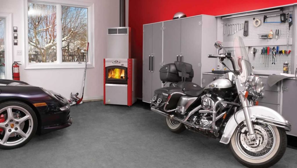 fireplace-garage  Places You Never Thought of Putting a Fireplace Places You Never Thought of Putting a Fireplace 2 1024x578