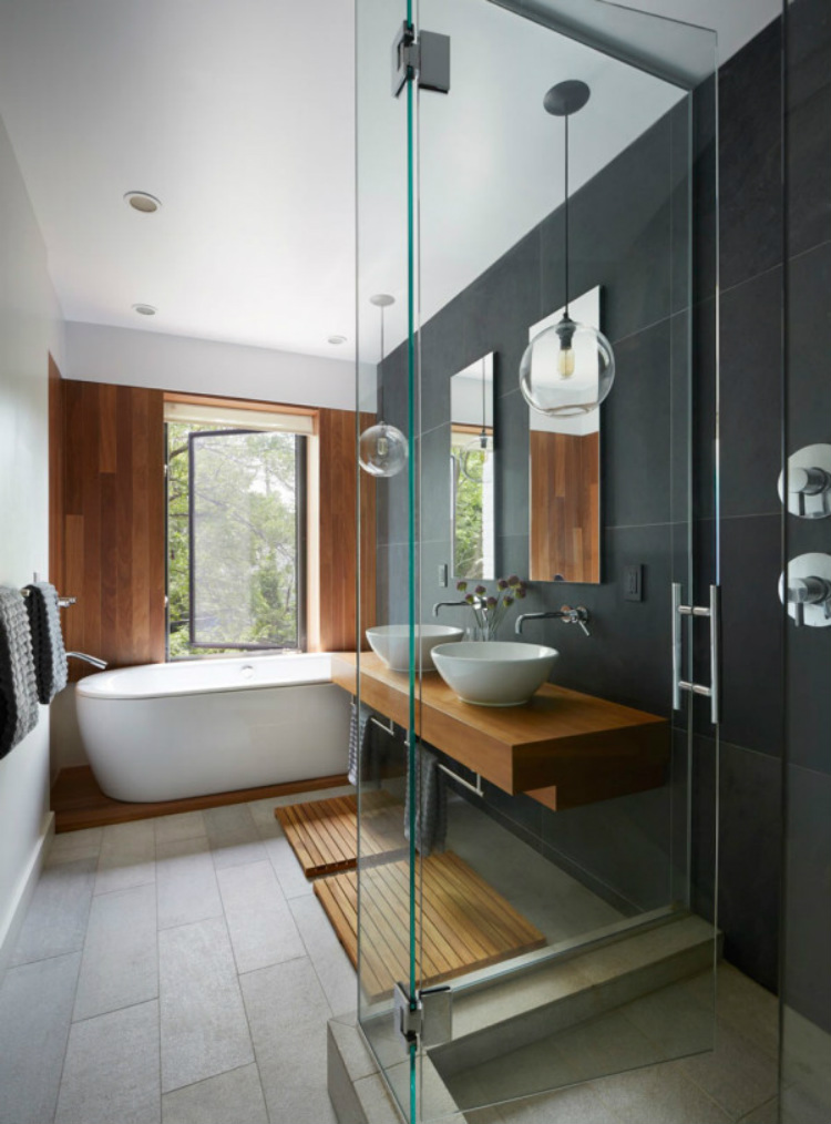 Design Ideas For Minimalist Bathrooms Roundup Minimal Bath 9 Etelamaki Arch Prospect Townhouse 600x811