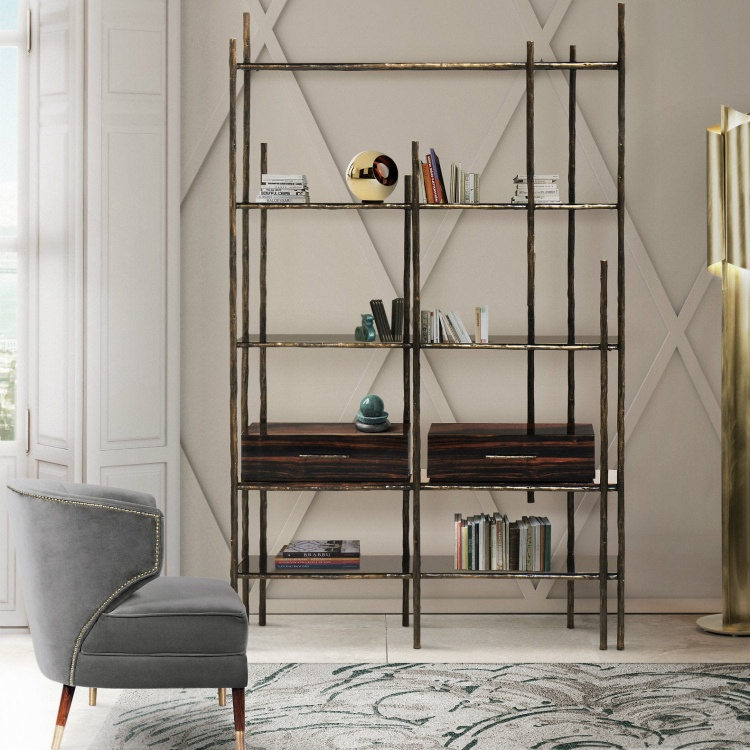 Fly Off Into the World of Interior Design: imm Cologne 2019 is here! Mambu Bookcase